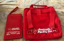Australian Pacific Tours Rouge Nylon Sac à Porter Sport Largeur / Passport