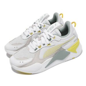 Puma RS-X Colour Theory White Grey Yellow Men Unisex Casual Shoes 370920-03