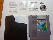 World Games (Nintendo NES, 1989) Game & Instruction book --Tested (NTSC/US/CA)