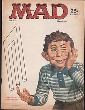 MAD  #93  1965  -ALFRED E NEUMAN  B&W CARTOON HUMOR  ''SPY vs SPY''  MARTIN...FN