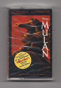 MULAN - Original soundtrack SEALED cassette - rare 1998 Walt Disney