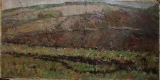 Russian Ukrainian Soviet Oil Painting Landscape Impressionism Pointillism bent