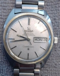 1968 Vintage Omega Constellation stainless steal watch