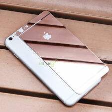 Mirror Tempered Glass Front Back Screen Protector Film for iPhone 6 7 7 8 Plus