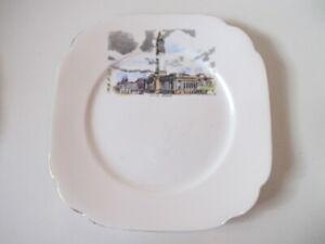 City Hall, Brisbane Queensland Australia - Vintage Royal Albert Bone China Plate