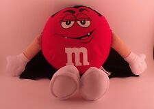 "M & M Guys Halloween Red M & M Vampire Plush 11"" Tall"