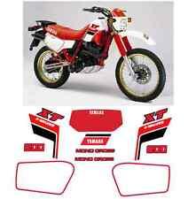 Yamaha XT 600 43F 1985-86 Mod Bianco Adesivi Grafiche Stickers Decal
