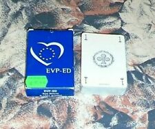 FRANCE BRÜSSEL PLAYING CARDS DECK LOVE EUROPEAN UNION EVP-ED EPP-ED ORGANISATION