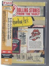 ROLLING STONES FROM THE VAULT LIVE IN LEEDS 1982 ROUNDHAY PARK JAPAN DVD + 2 CD