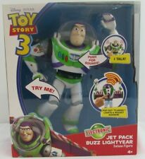 TOY STORY 3 JET PACK BUZZ LIGHTYEAR DE LUXE FIGURE BRAND NEW IN BOX       #NSDC#