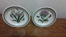 "Portmeirion BOTANIC GARDEN (2) Salad Bread Plate 8 1/2"" NWOT England"