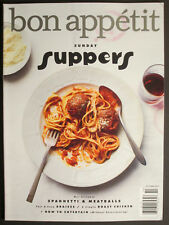 BON APPETIT  Sunday Suppers  October 2017