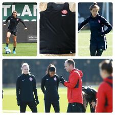 NIKE PORTLAND THORNS NWSL PLAYER TEAM ISSUED TRAINING TANK TOP MEDIUM
