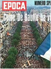 EPOCA N. 924 9 GIUGNO 1968 SPECIALE MAGGIO FRANCESE PROTESTA STUDENTI FRANCIA