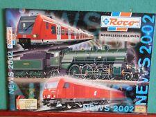 Roco Modelleisenbahnen NEWS 2002 Katalog Modelleisenbahnkatalog Catalog