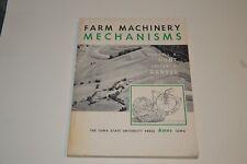 FARM MACHINERY MECHANISMS by Hunt & Garver 1st Edition, 1973 RARE ORIGINAL VGC