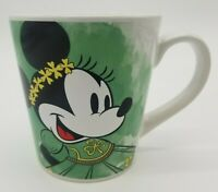 Disney Irish Minnie Mouse ST PATRICK'S DAY Ceramic Coffee Tea Mug 16 fl oz