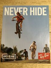 Ray-Ban - NEVER HIDE - Full-Page Magazine Ad