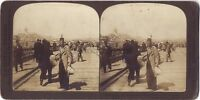 Contstantinople Su Pont Da Galata Turchia Stereo Stereoview Vintage Analogica