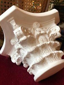 Stucco -wunderschönes Kapitell für 10 cm Säulendurchmesser - Säule aus Stuck