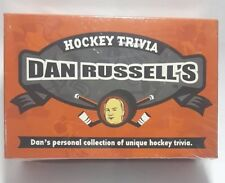 Dan Russell's hockey trivia board game brand new sealed