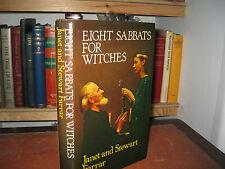 Eight Sabbats for Witches Janet & Stewart Farrar hardback 1983
