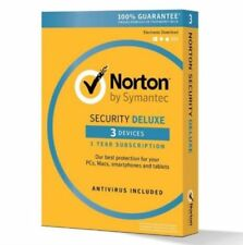 Norton Security 3 PC USER DEVICE 2020