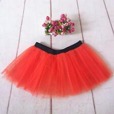 Women Short Mini Tutu Skirt Hen Fancy Dress Party 3 Layers of Net Plus Colours