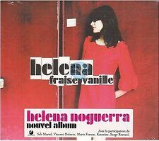 HELENA NOGUERRA fraise vanille CD ALBUM PROMO neuf new