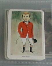 # 32 David Broome HORSE RIDER-anni'80 SPORT CARD