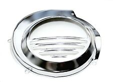 Vespa PX Chrome Flywheel Cover 125 200 Electic Start Version