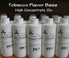 Food flavor super base for Shisha, Tobacco & E-Liquid 4 oz x 8 bottles