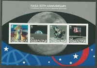 Gibraltar 2008 - Space Nasa 50th Anniv. Planet Rocket Moon - Sc 1157 MNH