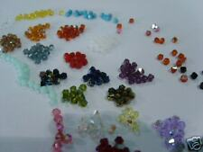 500 Cristalli SWAROVSKI art 5328 mm 4,00 Colori Assortiti Bicono Xilon Beads