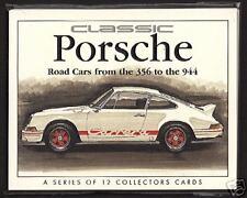 CLASSIC PORSCHE - Card Set 356, 911, 912, 924, Carrera