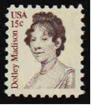 Scott # 1822....15 Cent   Dolley Madison...6 Stamps
