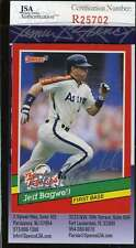 JEFF BAGWELL 1991 DONRUSS ROOKIE JSA COA Hand Signed Authentic Autographed