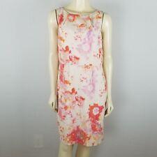 Ann Taylor sleeveless polyester summer sheath dress size 12p