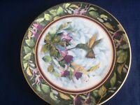 Royal Doulton The Berylline Hummingbird plate