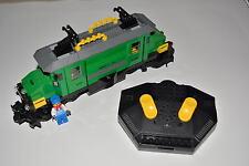 Lego Eisenbahn - grünes Krokodil aus 7898 - gebraucht - wie RC - Lok