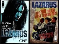 LAZARUS #1-9 Dystopian Near-Future Government RUCKA / LARK Image Comics 2013 VF