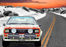 AD176 CAR POSTER Photo Picture Poster Print Art A0 to A4 AUDI CARS MOTORS 17