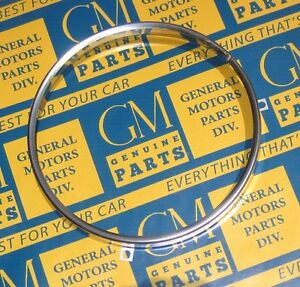 1968-1973 GM Headlight Bulb Retaining Ring. Stainless Steel.