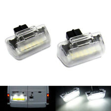 2x LED Licence Number Plate Light White For 1985-14 Ford Transit Tourneo Connect