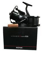 New 2019 Sonik Vader X 8000 RS Reel Quick Drag Set of 1, 2 or 3 - Carp Fishing