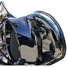 LA Choppers Black Inner Fairing Mirror Plugs for Harley LA-9001-00B