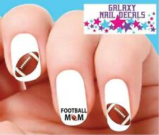 Waterslide Nail Decals - Set of 20 Football Mom Assorted