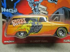 Hot Wheels 55 Chevy Panel Ghost Rider Real Riders