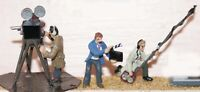 Film Camera and Sound Crew (OO Scale) - Unpainted - Langley F151