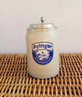 Vintage Ayinger Privatbrauerei German Stoneware 1/2 L Beer Stein